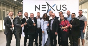 Das NEXUS Global Team um Michael Thomale (7. von links) und Christian Michel Scheibener (5. von links)