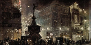 "George Hyde Pownall ""Piccadilly Circus"""